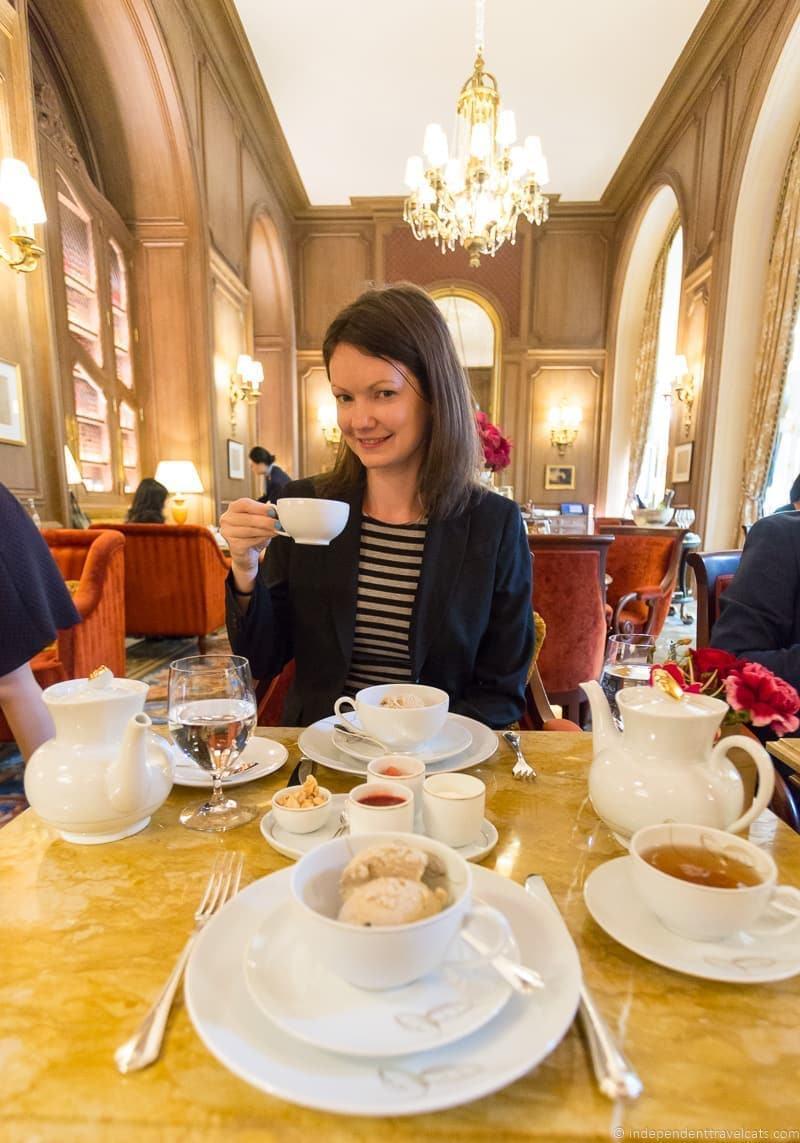 Ritz Paris afternoon tea in Paris guide