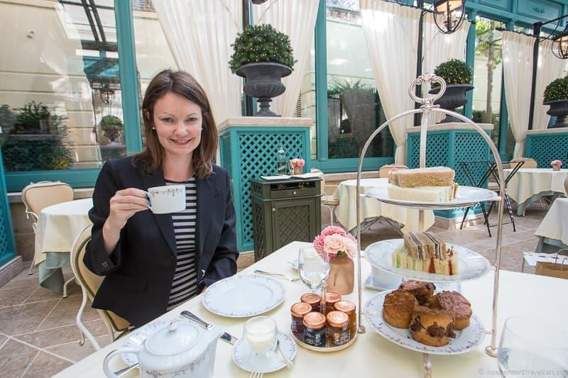 Hôtel Ritz Paris afternoon tea in Paris guide
