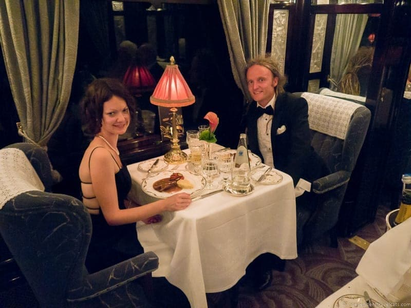 Belmond Venice Simplon Orient Express train Côte d'Azur dining car