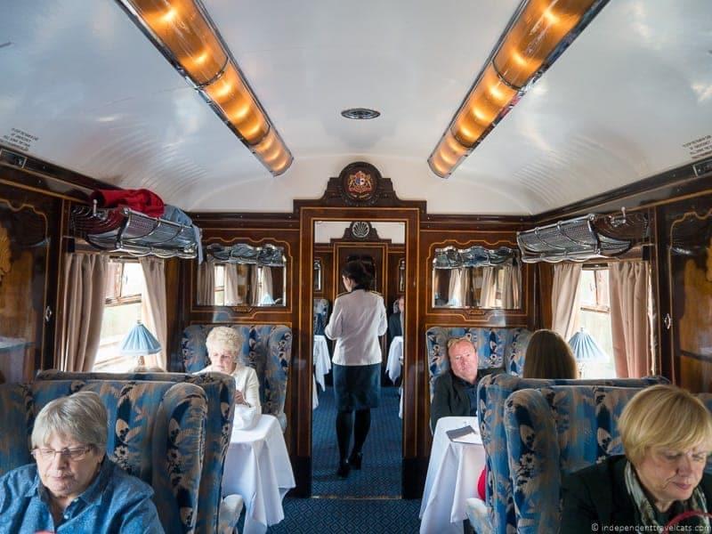 Belmond Venice Simplon Orient Express train Gwen British Pullman brunch