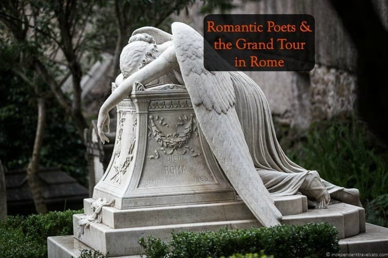 Romantic Poets Grand Tour in Rome