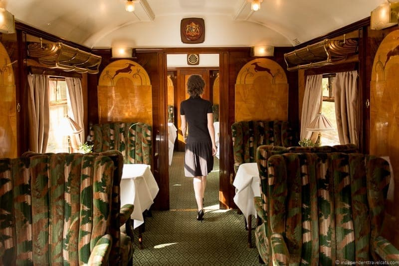 Belmond Venice Simplon Orient Express train Vera British Pullman