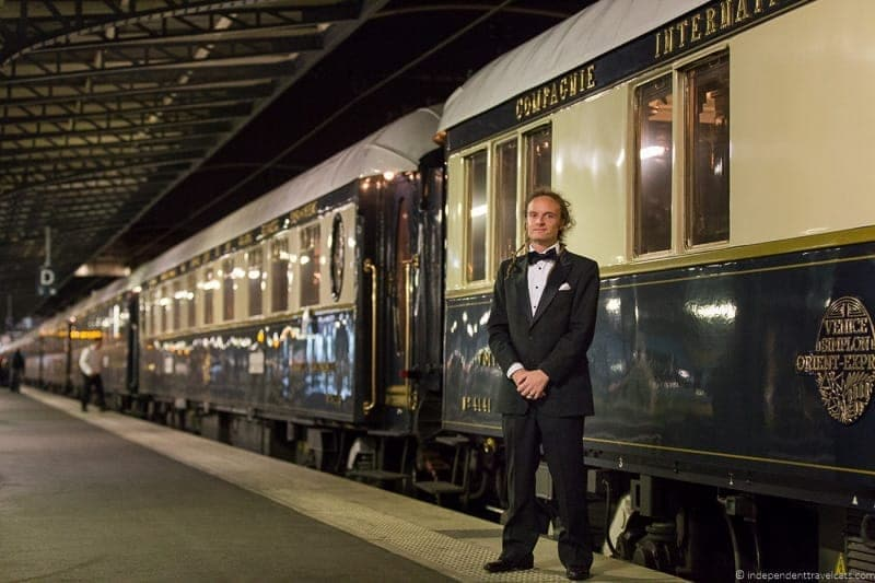 Belmond Venice Simplon Orient Express train