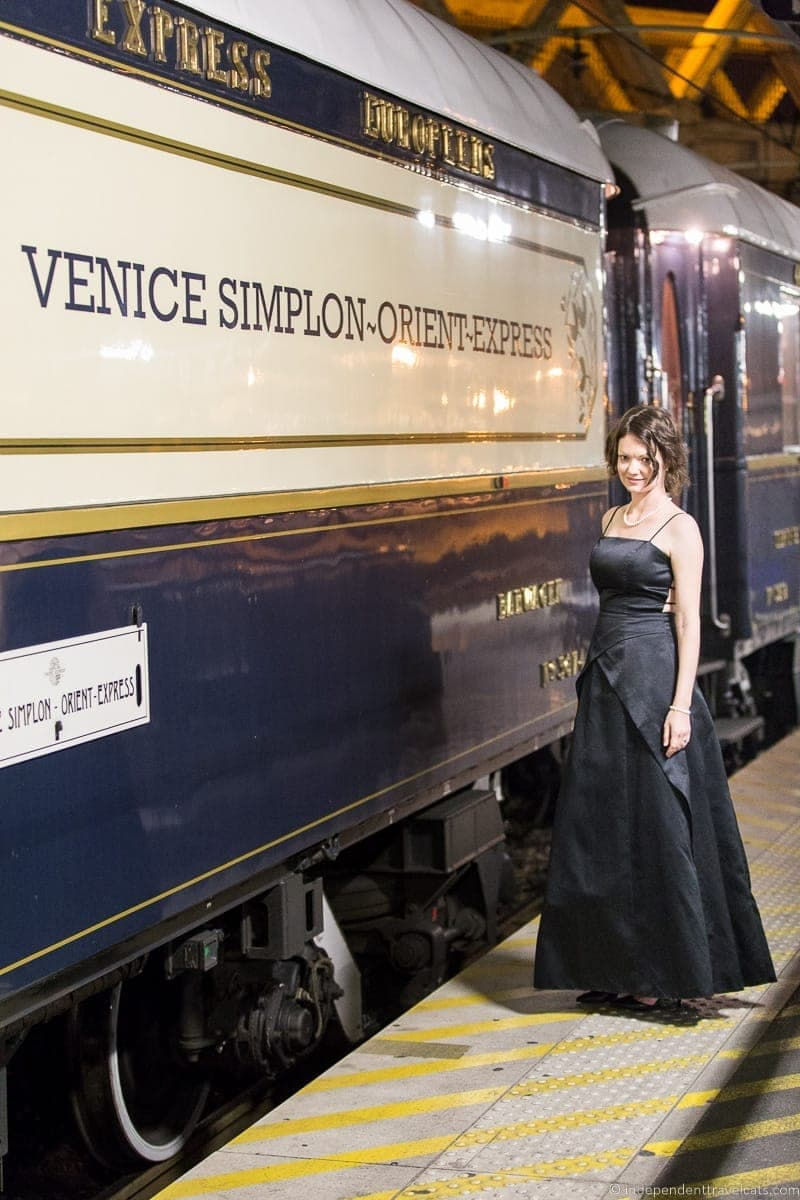 Belmond Venice Simplon-Orient-Express train