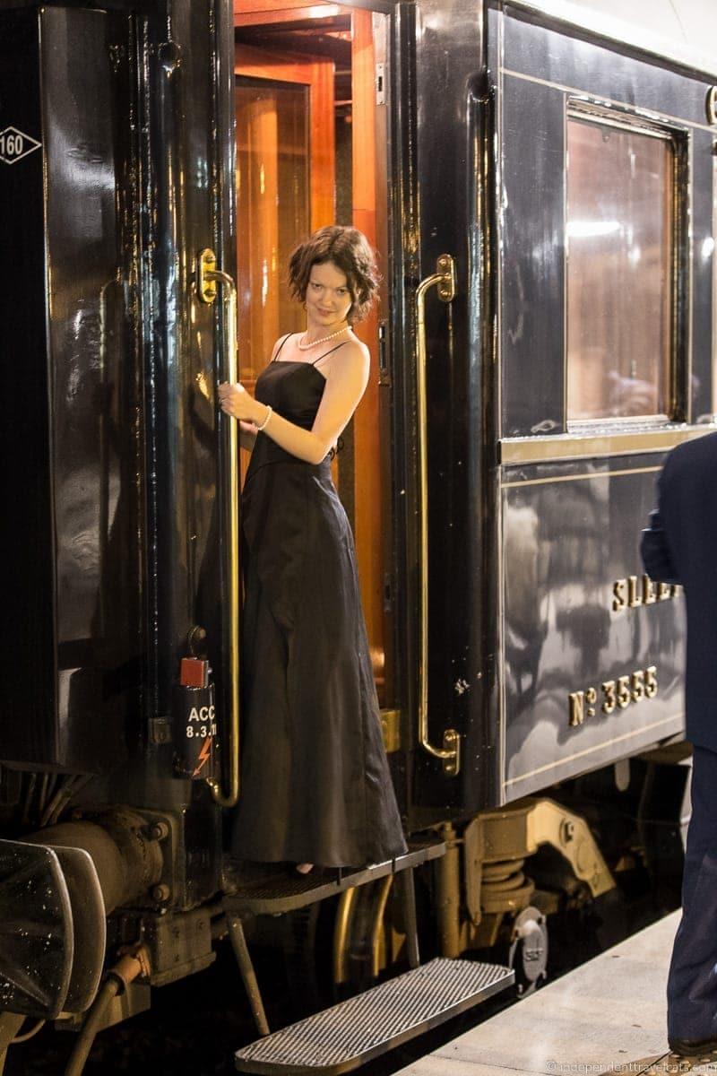 Belmond Venice Simplon Orient Express train