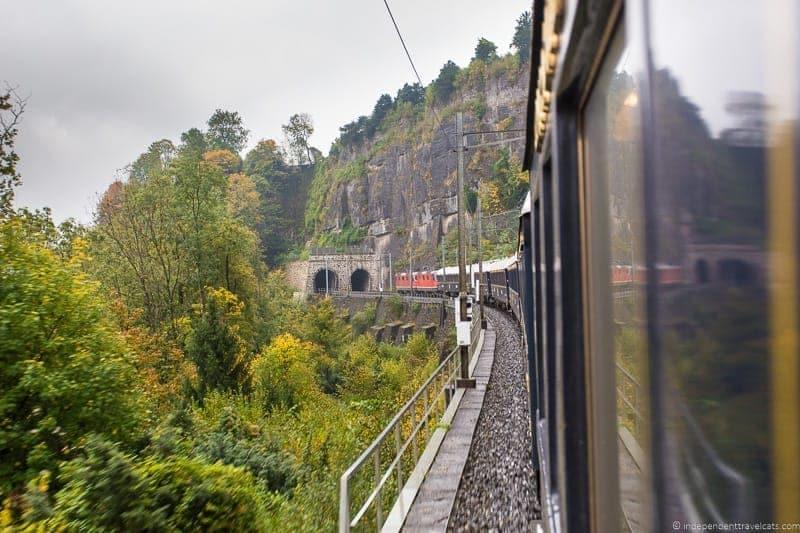 Belmond Venice Simplon Orient Express train scenery views
