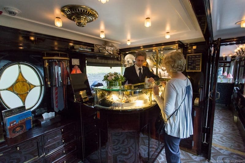Belmond Venice Simplon Orient Express train boutique
