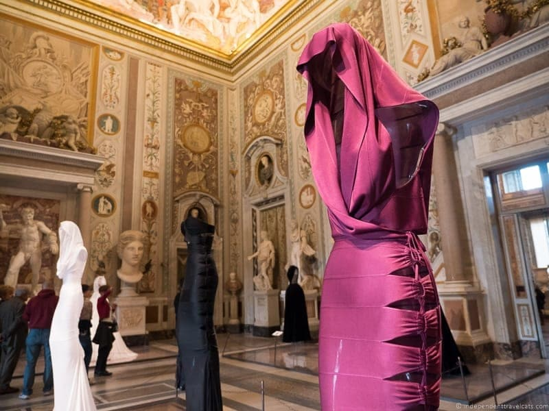 visit Borghese Gallery Rome Italy fashion exhibit