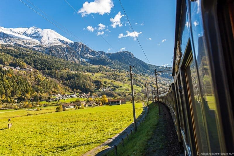 Belmond Venice Simplon Orient Express train scenery views