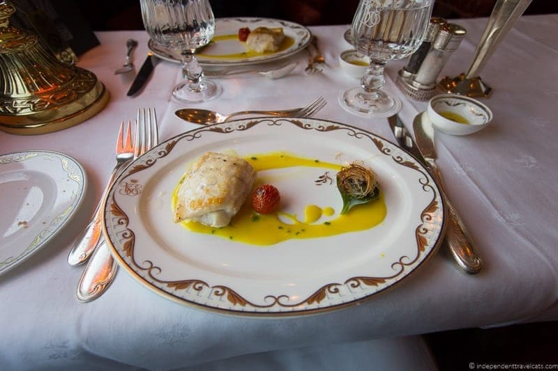 Belmond Venice Simplon Orient Express train dining car