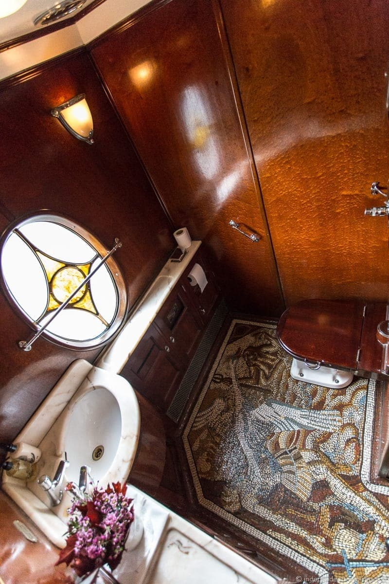 Venice SimplonOrientExpress Train A Luxury Train Journey From - Express bathrooms