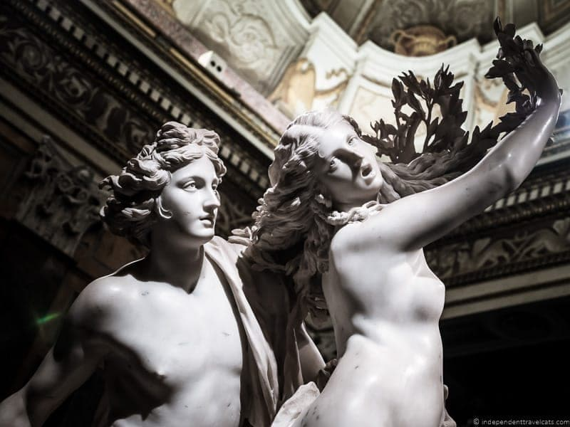 Apollo and Daphne Bernini Borghese Gallery Galleria Borghese Rome Italy