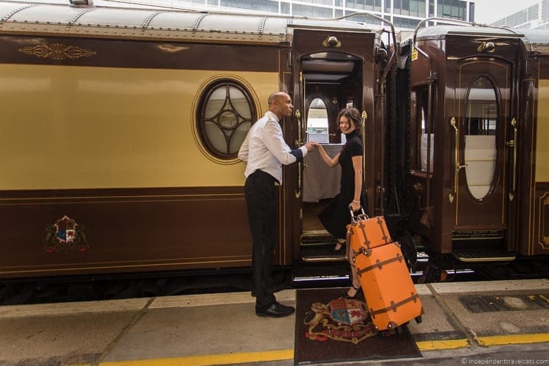 Belmond Venice Simplon Orient Express British Pullman train