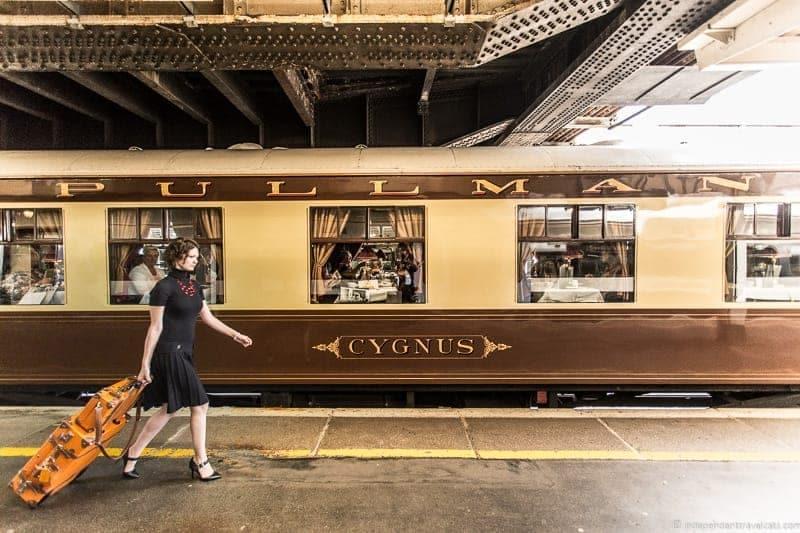 Belmond Venice Simplon Orient Express British Pullman Cygnus train