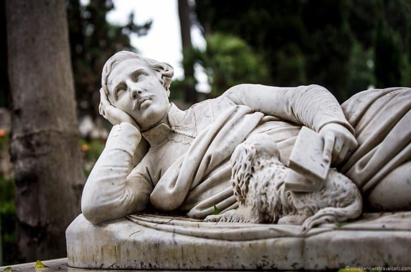 Devereux Plantagenet Cockburn grave Non Catholic Cemetery Grand Tour in Rome Italy