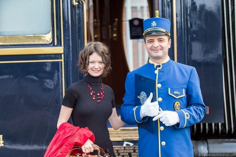 Belmond Venice Simplon Orient Express train cabin steward