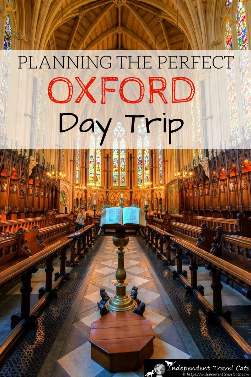 Our guide to planning the perfect Oxford day trip from London. Oxford is a compact historical university city situated about 60 miles from London, making a Oxford day trip an ideal way to get out of the bustling capital for a day. We share advice and tips on how to get to Oxford from London, what to see and do, where to drink, where to stay, and how to make the most of your time. #London #Oxford #Oxforddaytrip #OxfordUniversity #Londondaytrip #Londontravel #UK #travel #England