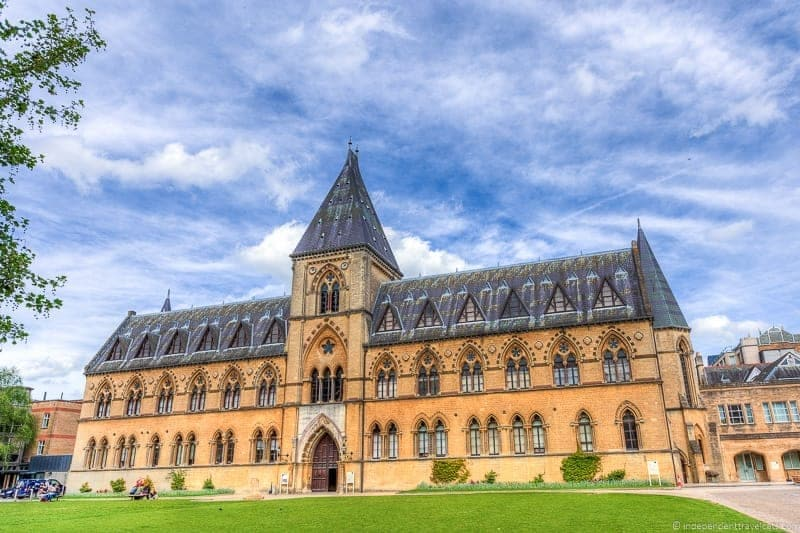 Oxford University Museum of Natural History Oxford day trip from London UK