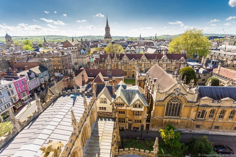 Oxford day trip from London England UK