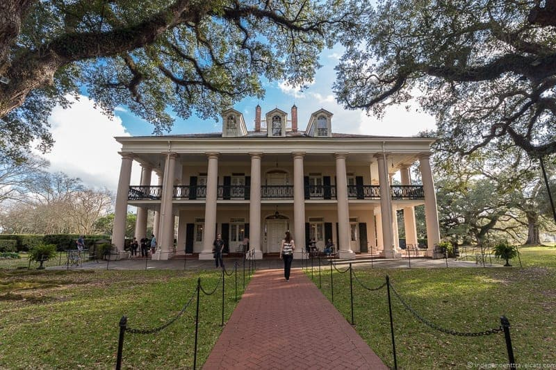 Oak Alley Plantation tour overnight New Orleans Louisiana
