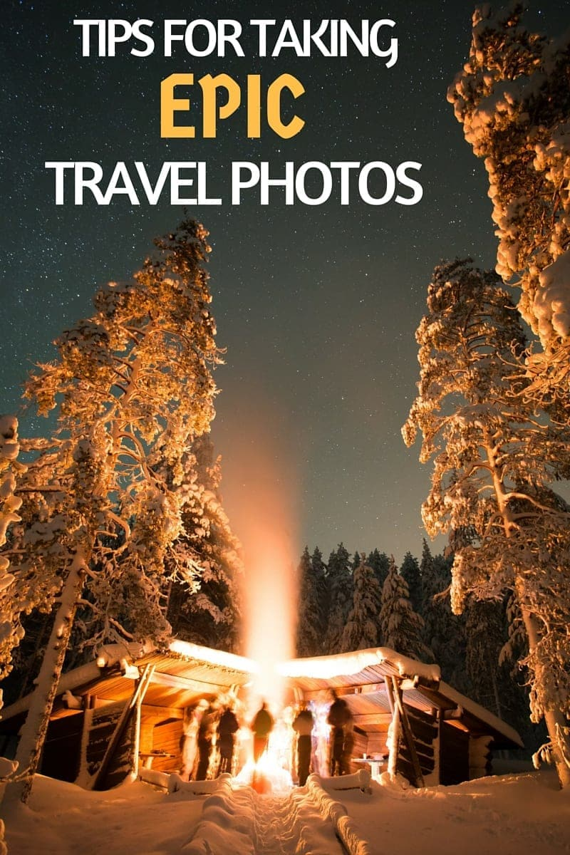 Tips for taking epic travel photos from a professional travel photographer. This Q & A post is designed to share some of the basics on travel photography, including things like how a camera works, advice on camera gear, how to protect your gear while traveling, the essential basics of composition you should know, tips for mobile photography, best photography editing software, and even tips on how to take a better selfie!