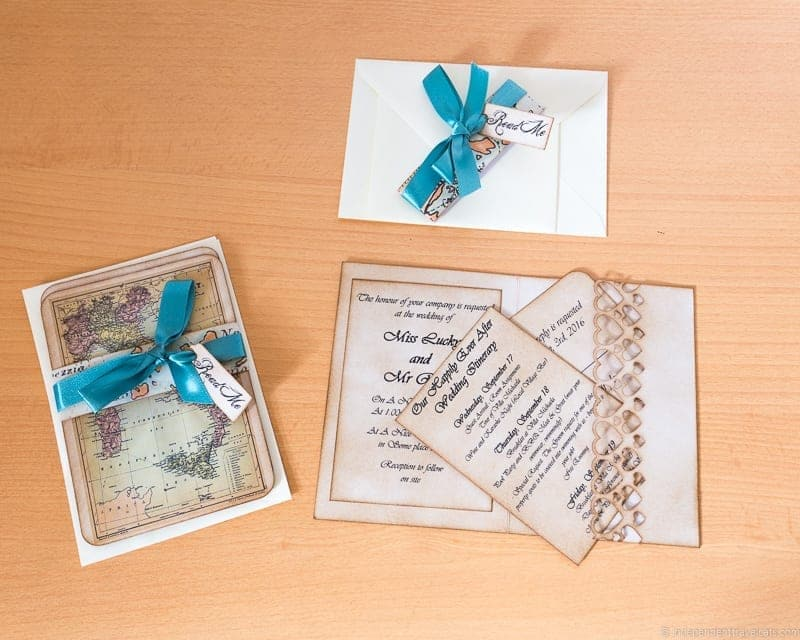 Inspiration For Your Travel Themed Wedding Or Destination