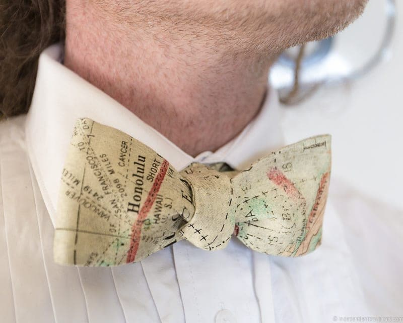map bow tie plan travel themed wedding destination wedding inspiration ideas gifts