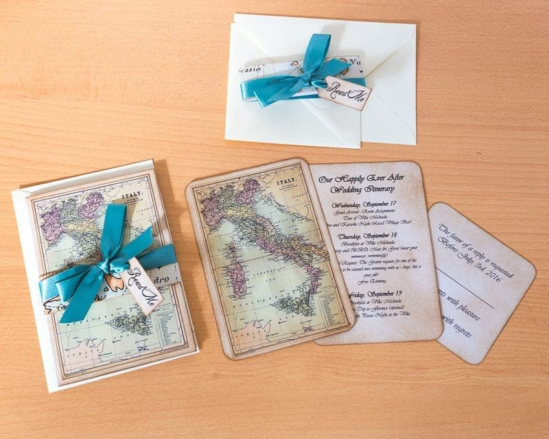 inspiration for your travel themed wedding or destination wedding, Wedding invitations