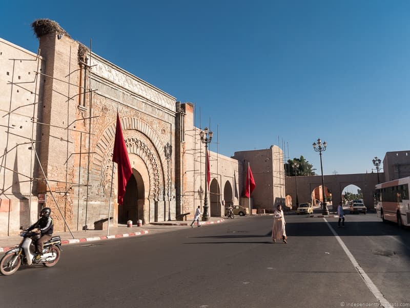 Bab Agnou things to do in Marrakesh Morocco Marrakech