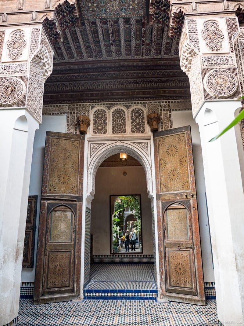 Bahia Palace things to do in Marrakesh Morocco Marrakech