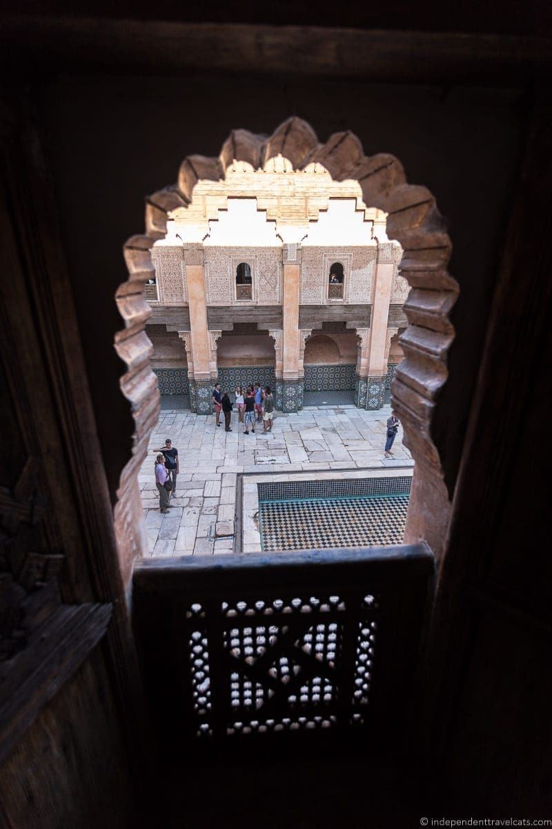 Ben Youssef Madrasa things to do in Marrakesh Morocco Marrakech
