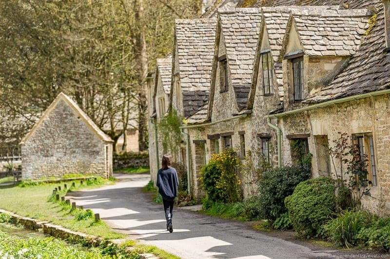 Arlington Row Zestrip day trip from London Blenheim Palace Cotswolds Lacock Abbey