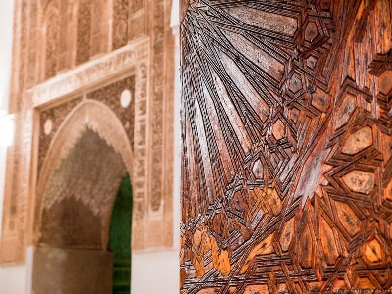 Saadian Tombs things to do in Marrakesh Morocco Marrakech