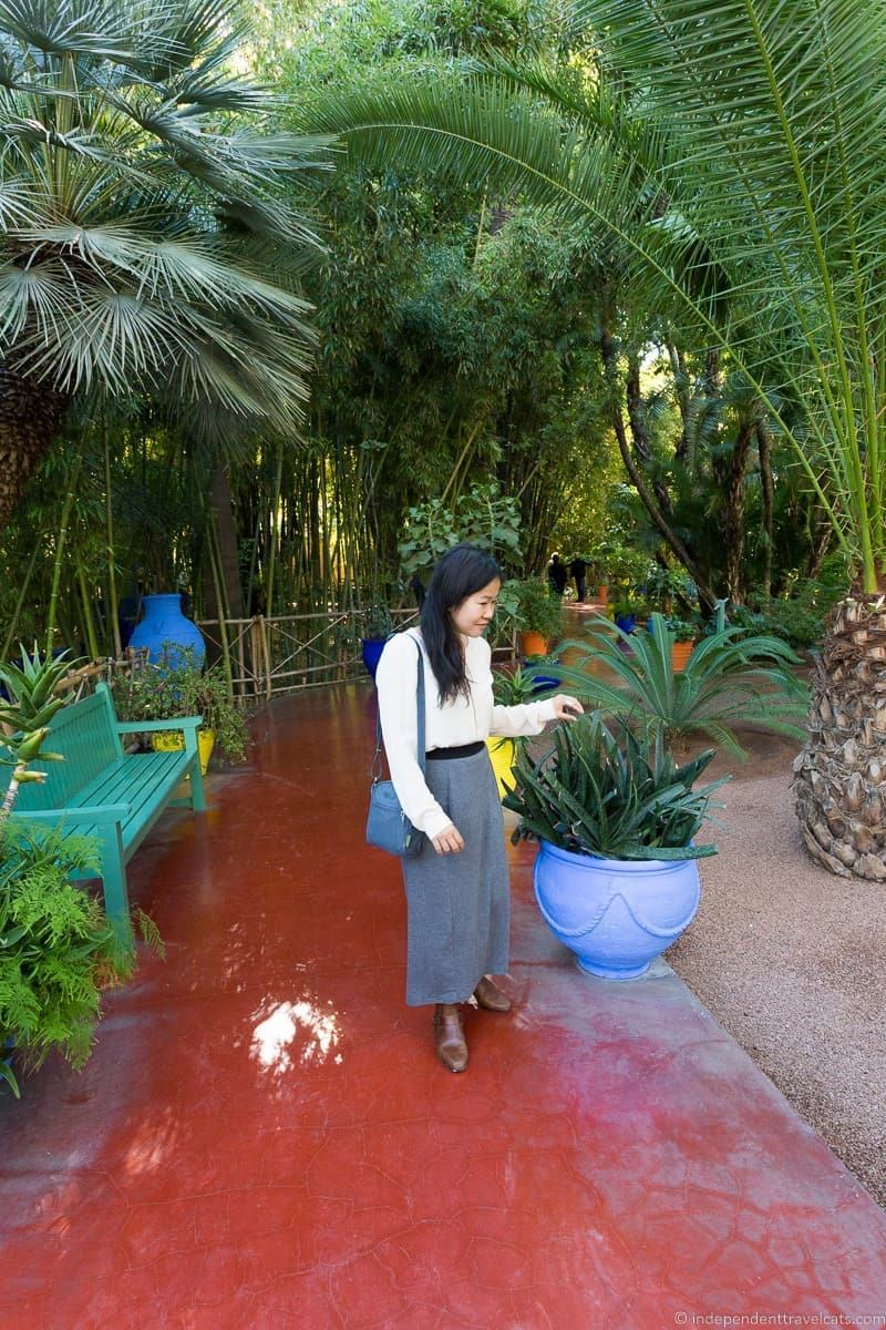 Majorelle Gardens things to do in Marrakesh Morocco Marrakech