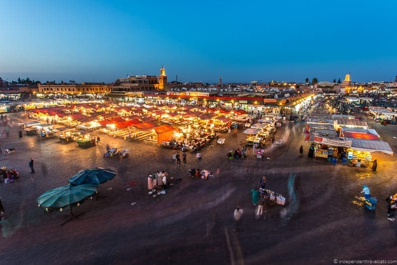 Jemaa el-Fnaa things to do in Marrakesh Morocco Marrakech