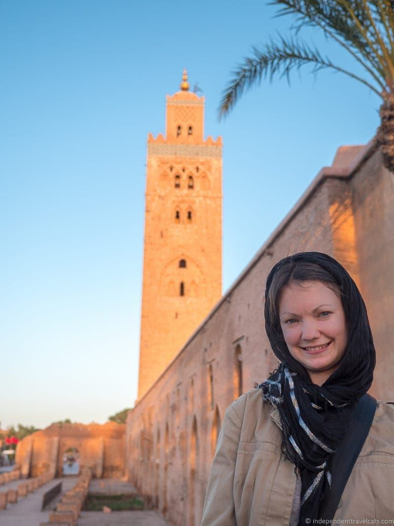 Koutobia Mosque things to do in Marrakesh Morocco Marrakech