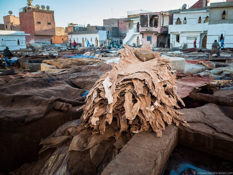 tannery things to do in Marrakesh Morocco Marrakech