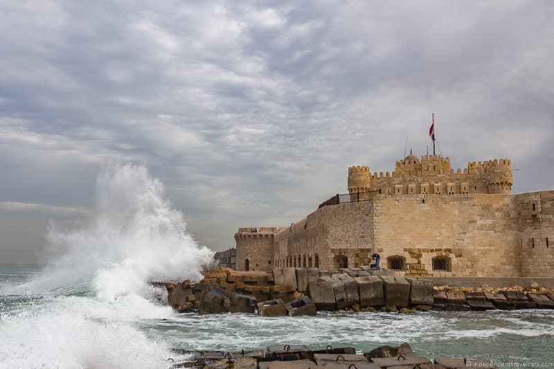 Citadel Qaitbay Alexandria Egypt