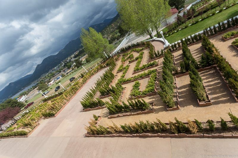 hedge maze The Stanley Hotel Estes Park Colorado