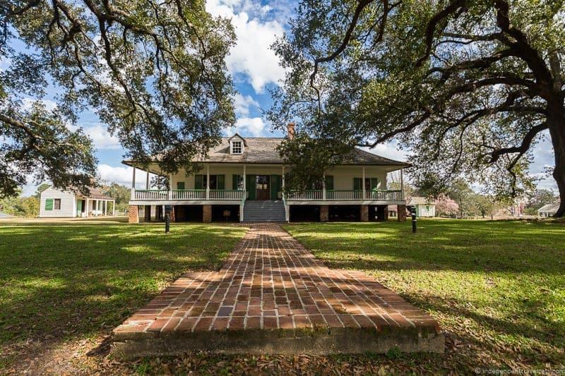 Magnolia Mound Plantation Louisiana Plantations River Road New Orleans Baton Rouge