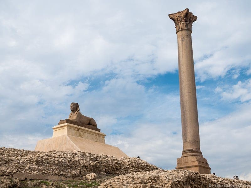 Pompey's Pillar things to do in Alexandria Egypt