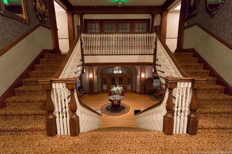 staircase The Stanley Hotel Estes Park Colorado