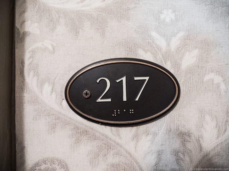 Room 217 The Stanley Hotel Estes Park Colorado