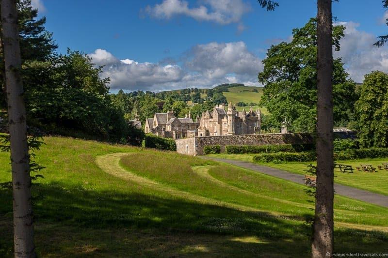 Abbotsford Scottish Borders highlights travel Rabbies
