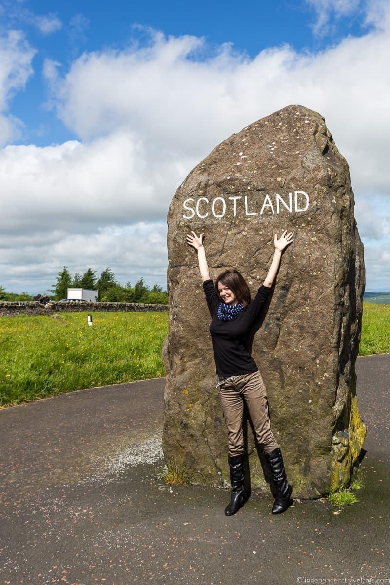 Carter's Bar Scottish Borders highlights travel Rabbies