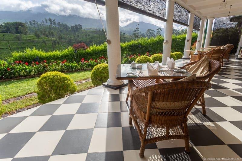 Tientsin Bungalow Ceylon Tea Trails Sri Lanka hotel resort Tea Country