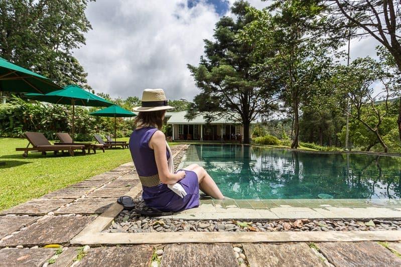 Castlereagh Bungalow Ceylon Tea Trails Sri Lanka hotel resort Tea Country