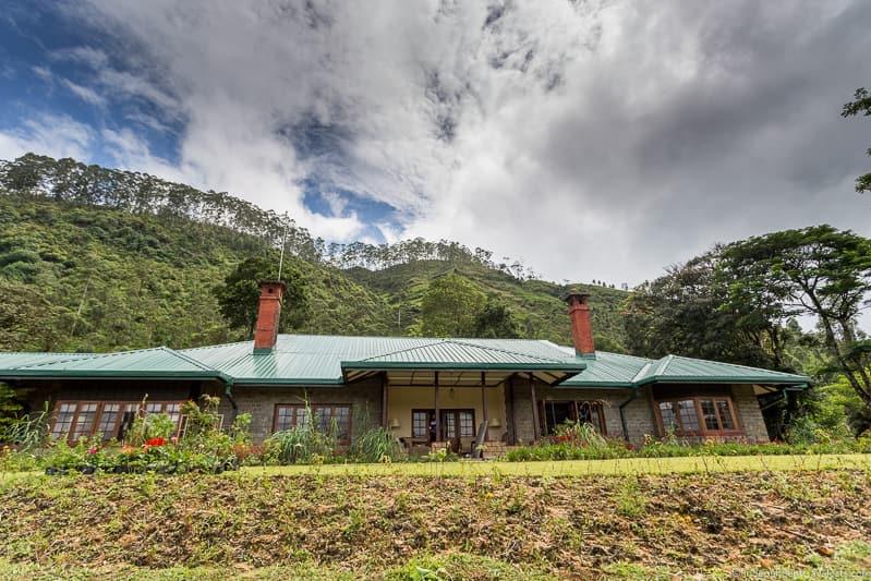Dunkeld Bungalow Ceylon Tea Trails Sri Lanka hotel resort Tea Country