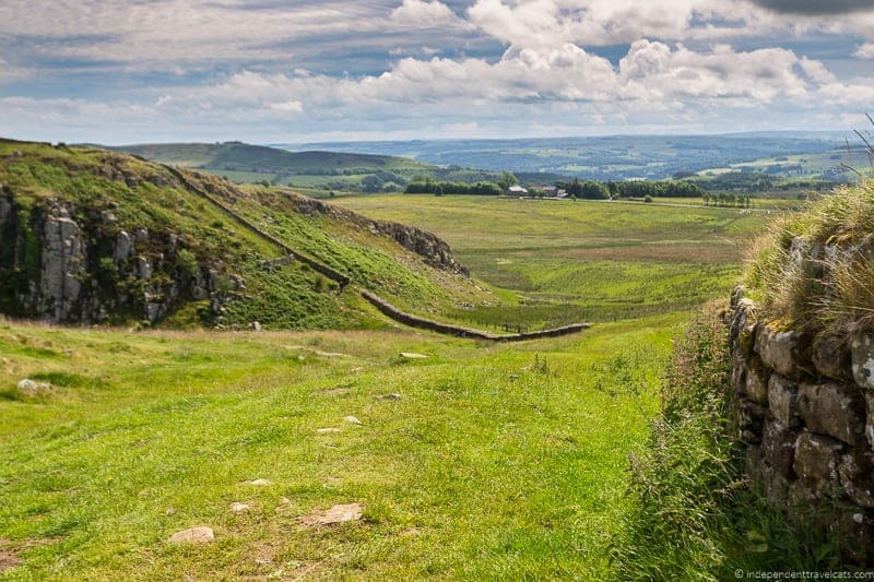 Hadrian's Wall Scottish Borders highlights travel Rabbies