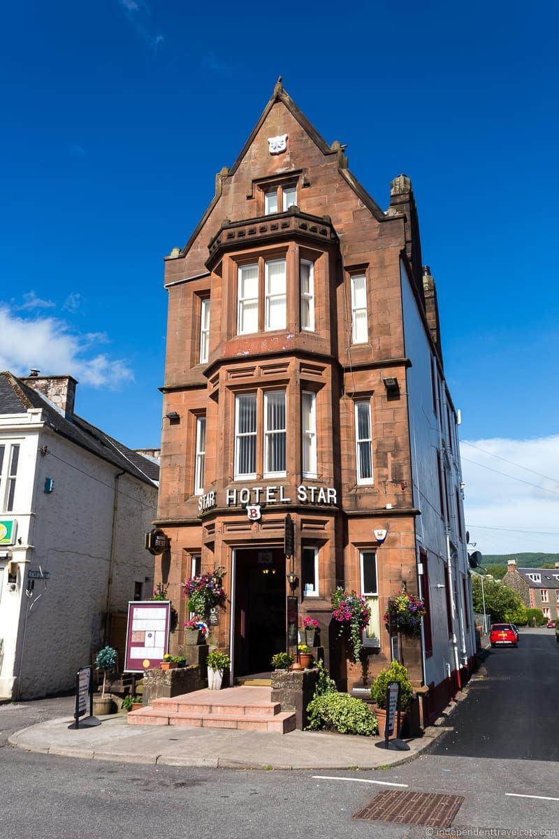 Moffat narrow hotel Scottish Borders highlights travel Rabbies